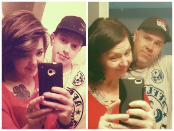 Hilarisch! Deze ouders maakten de selfies van hun kinderen na