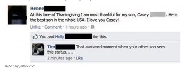 Haha! Deze ouders begrijpen helemaal niks van Facebook