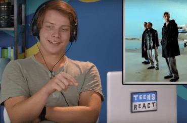 Haha! Tieners reageren op muziek van de Backstreet Boys