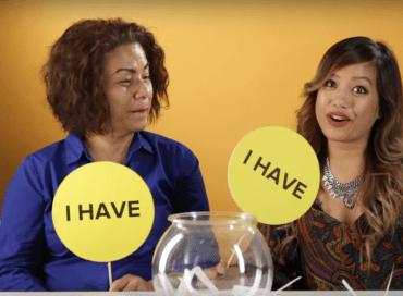 Filmpje: Kinderen spelen 'ik heb nog nooit...' met hun ouders