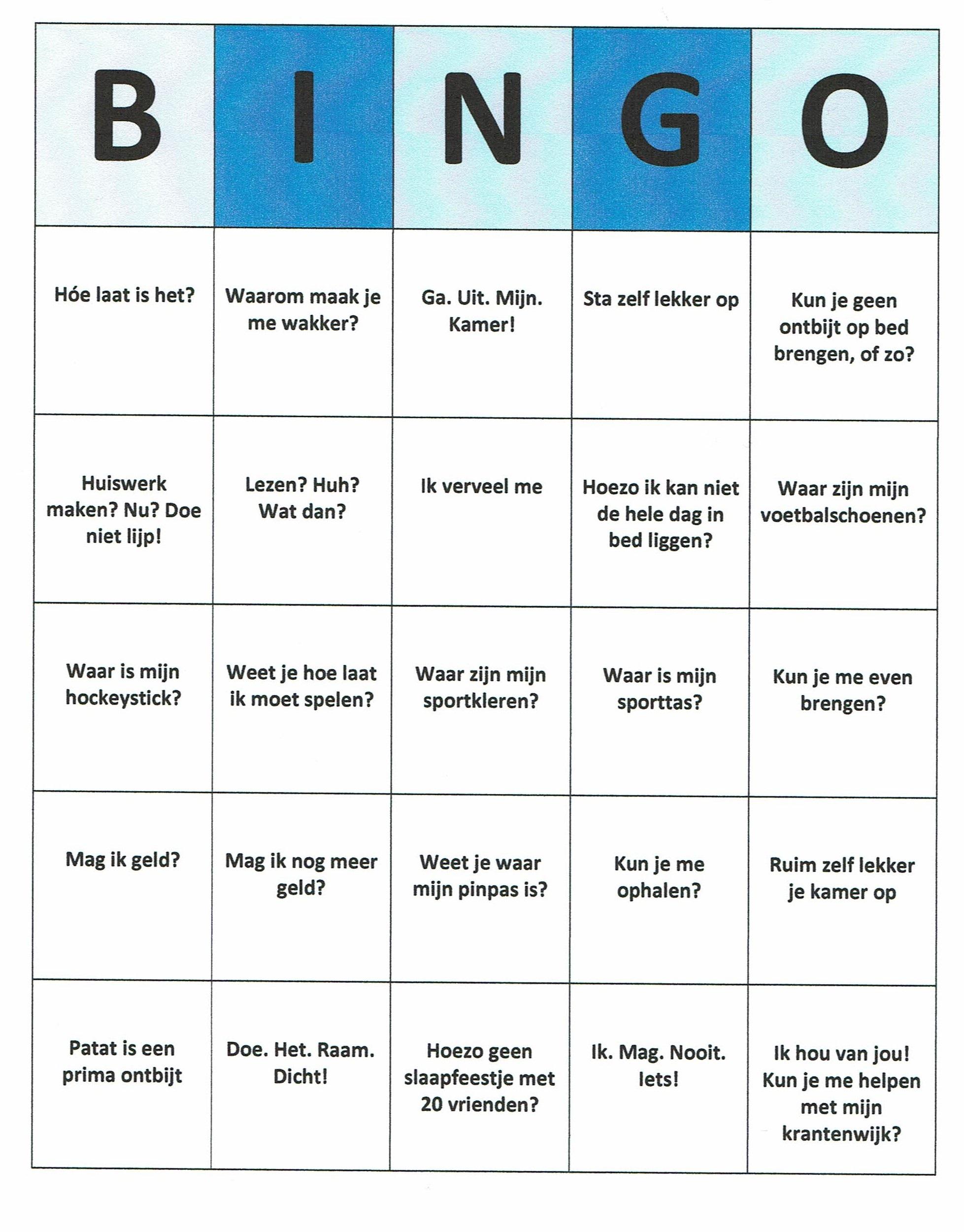 Genoeg Bingo Spel Maken #QJ56 – Aboriginaltourismontario @PG91