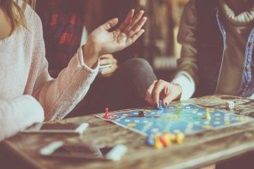Spellen spelen met kinderen