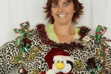 Voor pubers die een originele kersttrui willen