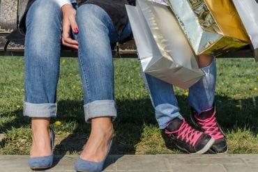 40 dingen die mijn puber roept bij het uitzoeken van nieuwe sneakers