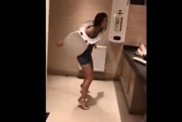 Dit gebeurt er in de damestoiletten