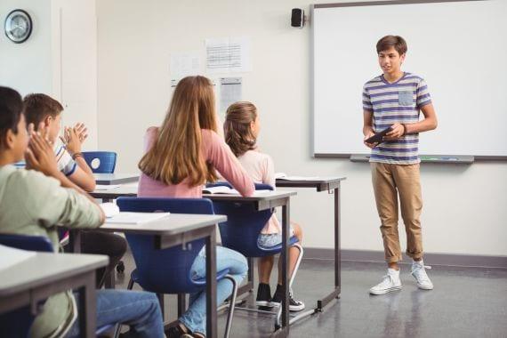 Voorlichting over soa's, deze leraar loste dat heel handig op
