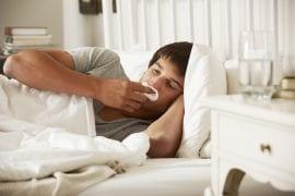 Hooikoorts en examens; sommige pubers hebben het dubbel zwaar deze dagen
