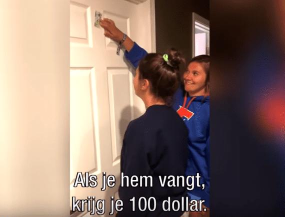 Probeer dit vooral thuis met je puber: De get that money challenge!