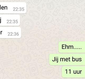 13 hilarische Whatsapp-gesprekken tussen pubers en hun ouders